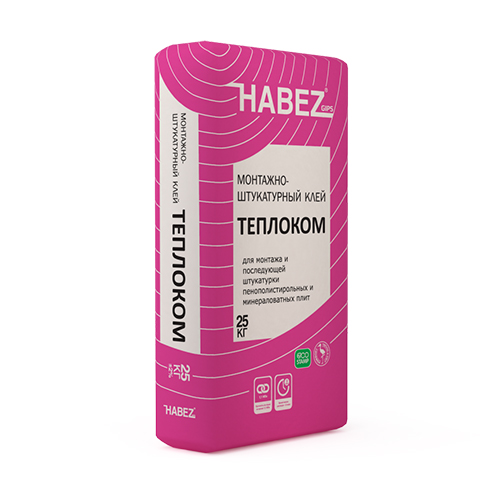 HABEZ - Монтажный клей Теплоком 25 кг