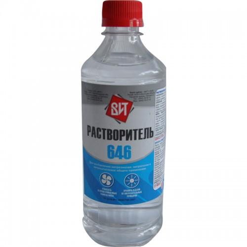 Растворитель 646 (0,5 л.) ПЭТ
