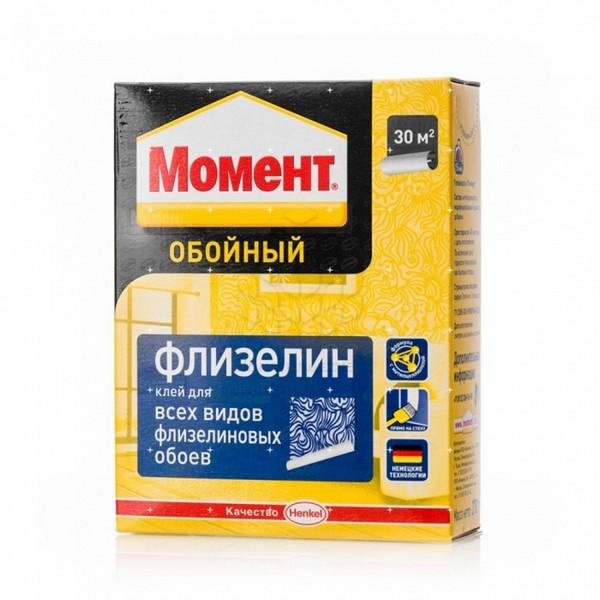 Клей для обоев МОМЕНТ Флизелин 270 гр 1/24 (шт.)