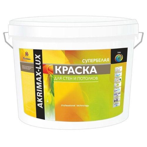 "Краска для стен и потолков ""Akrimax"" 3 кг"