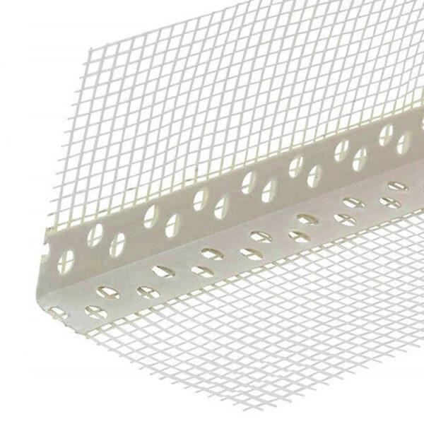 Уголок алюм перфорированный с сеткой 7х7 2,5 м.п (50) (шт.)