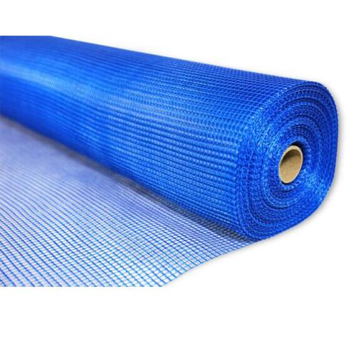 Сетка стеклотканная штукатурная фасадная 5*5 мм (160г/м2) Синяя