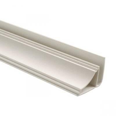 ПЛИНТУС Пластиковая фурнитура, длина 3м (30 шт)