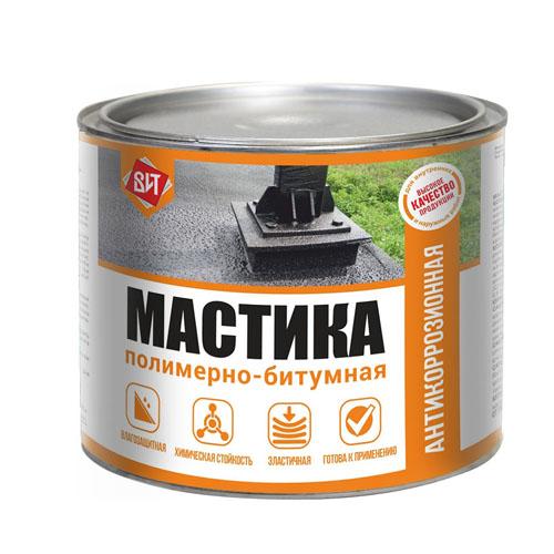Мастика Полимерно - битумная 1,6 кг