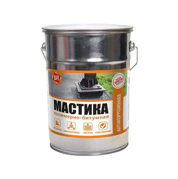 Мастика Полимерно - битумная 15 кг