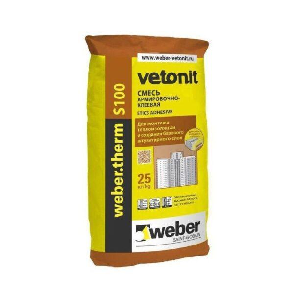 Weber Therm S-100 (Армировочно-клеевая смесь для ППС и мин.ваты) (48)
