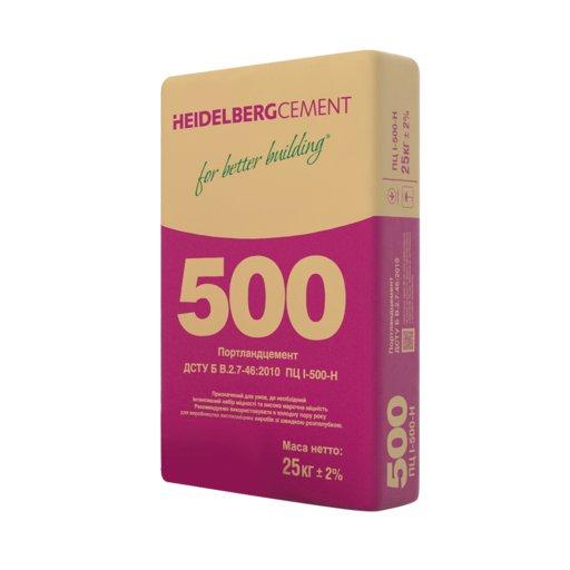 Цемент ПЦ II/Б-Ш-500 тара (мешок 25кг)(HEIDELBERG)