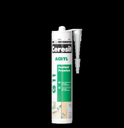 CS11 Герметик Акриловый (белый) Ceresit (шт.)