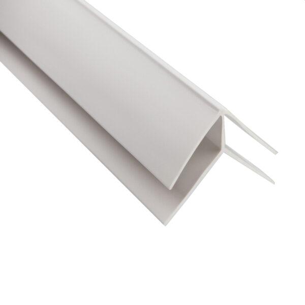ВНУТРЕННИЙ угол Пластиковая фурнитура , длина 3м (30 шт)