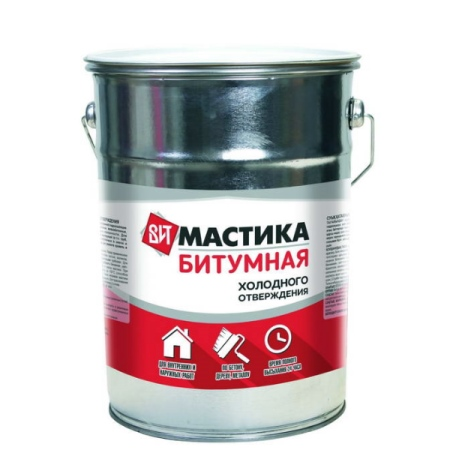 Мастика битумная холодного отверждения 1,8 кг