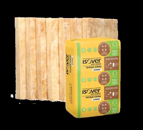 ISOVER ПЛИТА-50/Е-610*1170 тепло- и звукоизол. Тёплый дом (10м2), (0,5 м3) 14 шт. в уп.