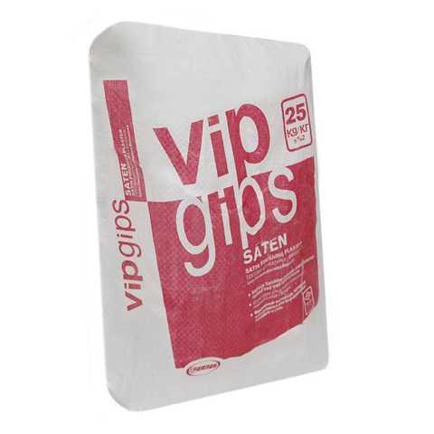 Сатиновый полировочный гипс VIP Gips Saten (25кг) (шт.)