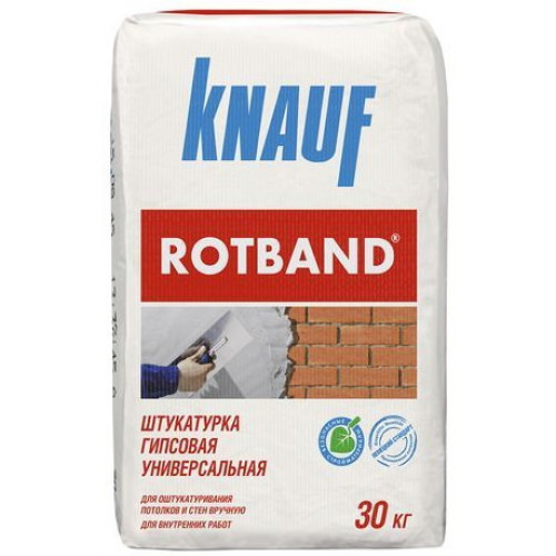 "Штукатурка гипсовая""Rotband"" (30 кг.) Knauf (40) (шт.)"