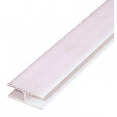 Н- соединительный Пластиковая фурнитура Н-обр, длина 3м (50 шт)
