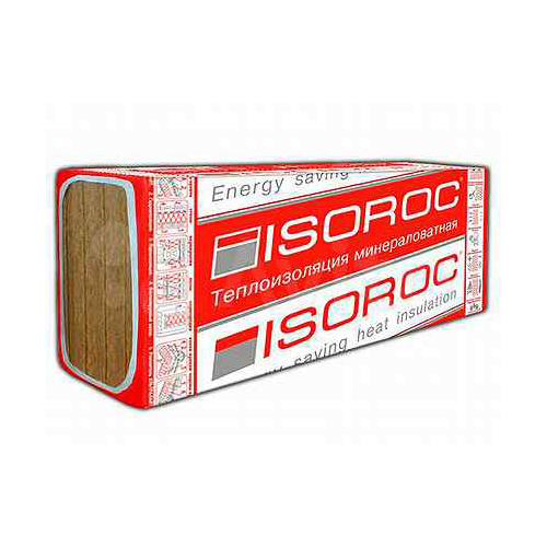 Минплита ISOROC УЛЬТРАЛАЙТ (1200*600,50мм, 5,76м2) (0,288м3) (33 кг/м3)