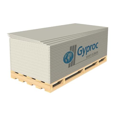 """ГКЛВ 2,5 х 1,2 х (12,5 мм) """"Gyproc"""" (ВЛАГА 2,5м) (50шт)"""