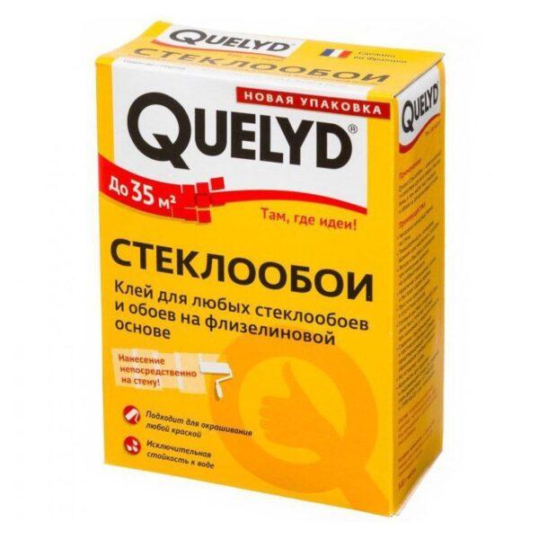 """Клей для обоев QUELYD """"СТЕКЛООБОИ"""" 0,500 (30шт)"""