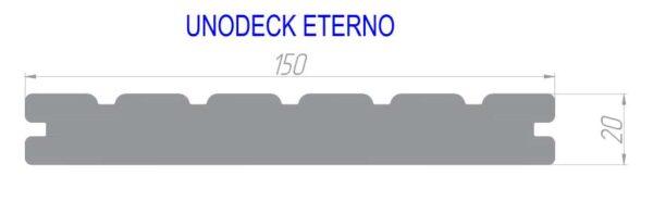 Террасная доска TERRADECK MASSIVE PRO полнотелая 150x21мм