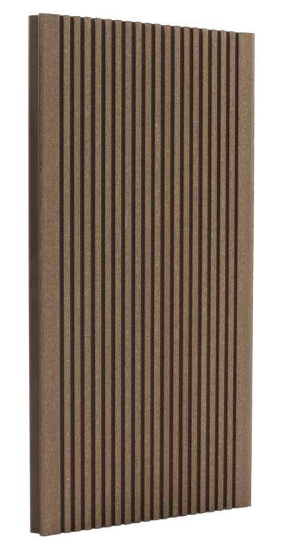 Террасная доска дпк TERRADECK ECO 155x28мм (бесшовная)
