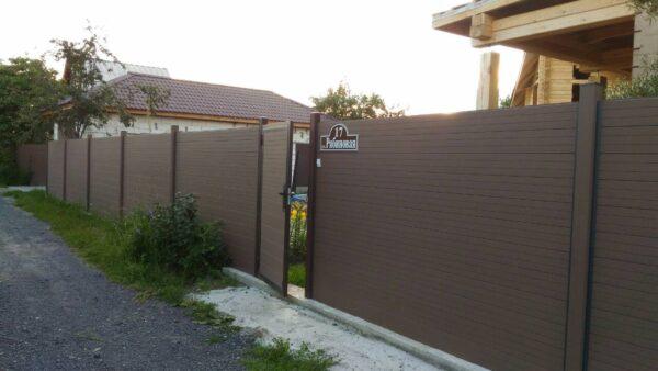 Заборный профиль CM Fencing 210х20х3000 мм