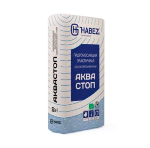 """HABEZ - Смесь Гидроизоляционная """"АКВАСТОП"""", 25 кг"""