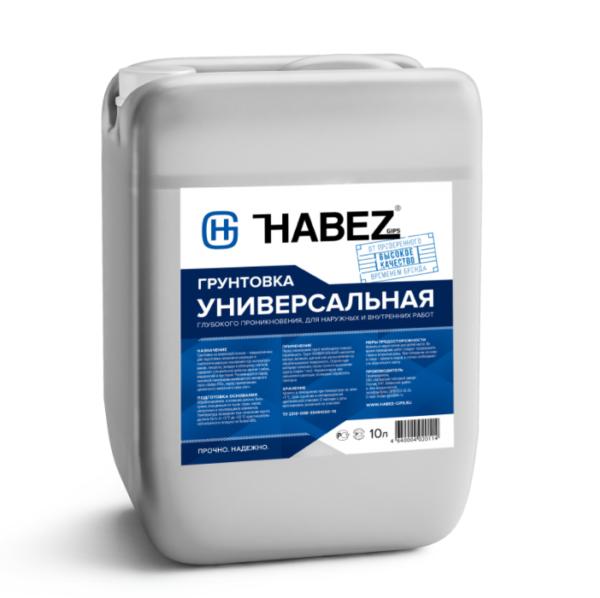 HABEZ-Грунтовка универсальная 10 л