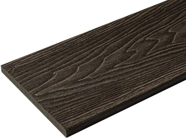 Подступенок NauticPrime Esthetic Wood. Одностороннее 3D тиснение под дерево.150х12х4000