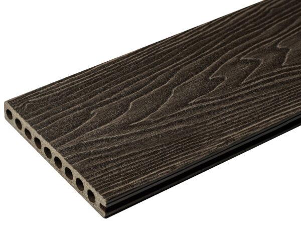 Ступень NauticPrime Esthetic Wood. Одностороннее 3D тиснение под дерево.160х22х4000