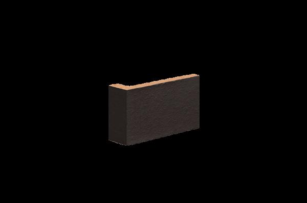 Клинкерная фасадная плитка Volcanic black (18) King Klinker