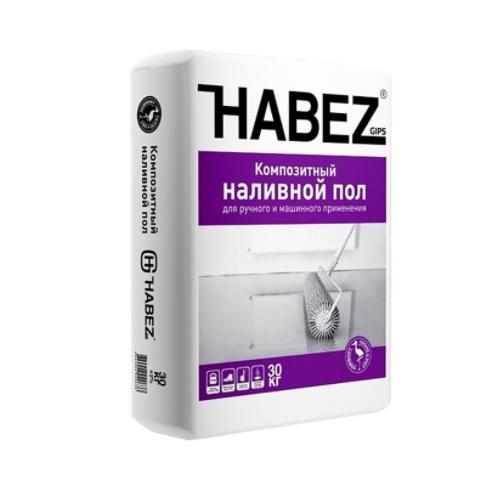 HABEZ - Композитный НАЛИВНОЙ ПОЛ (финиш.), 30кг