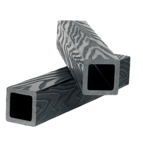 "Балясина ""POLIVAN"" 3D 50х50 х2900 Черный, Темно-Коричневый"
