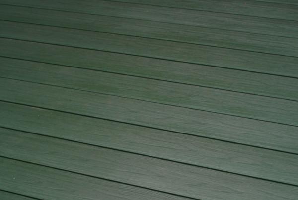 Террасная доска ПРАКТИК КОЭКСТРУЗИЯ Моноколор 147х23 мм Изумруд