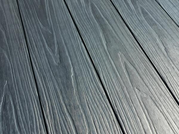 Террасная доска ПРАКТИК КОЭКСТРУЗИЯ Мультиколор 147х23 мм Чёрная жемчужина