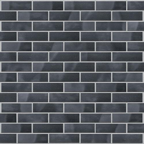 Клинкерная фасадная плитка Black pearl (32) King Klinker