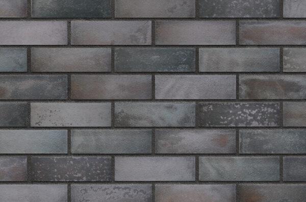 Клинкерная фасадная плитка Black jack (37) King Klinker